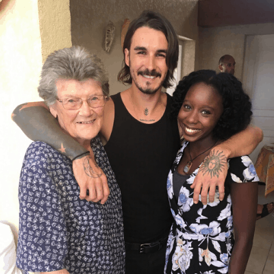 Black hair & skin: French Grandma meets her first Black person