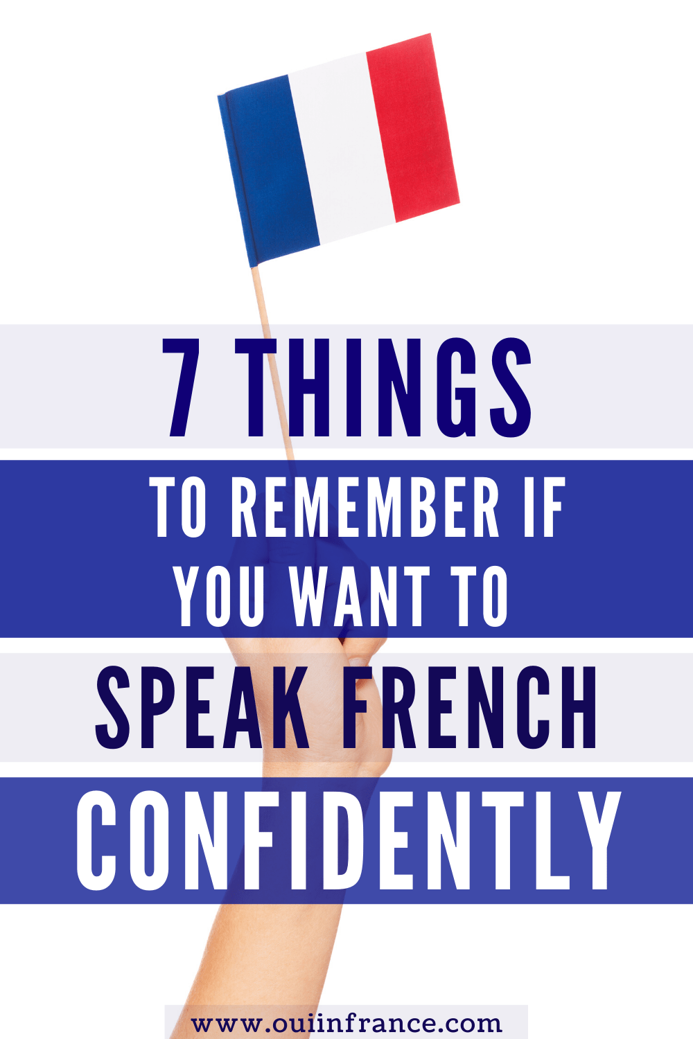 how to feel confident speaking french