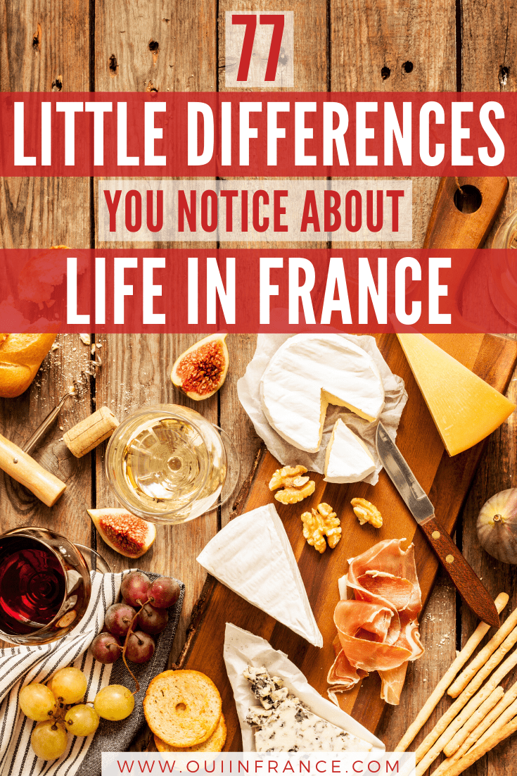 little things that are different about life in france