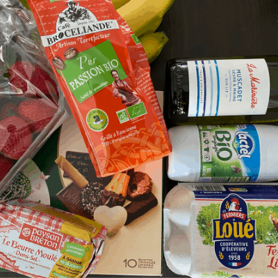 What $20 buys you at a French supermarket