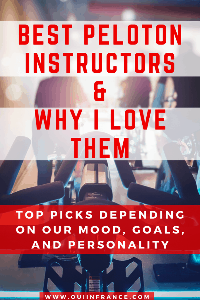 best peloton instructors for goals personality and mood