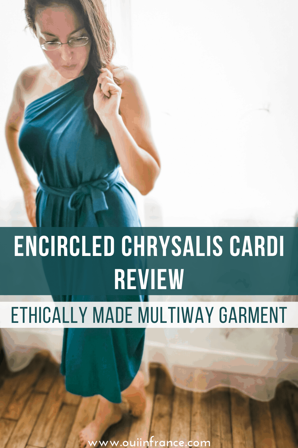 encircled chrysalis cardi review