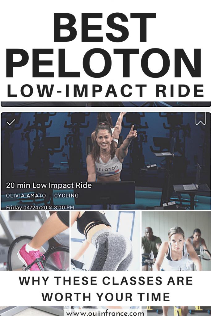 best peloton low impact class