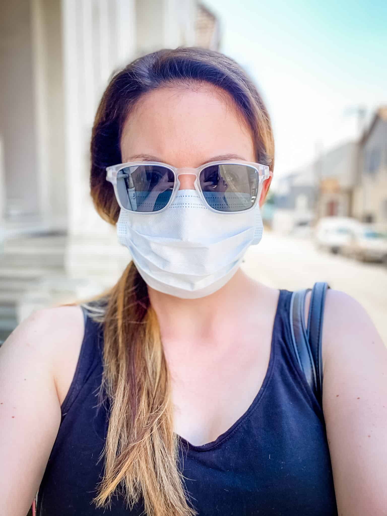 how wearing mask affects foreign language comprehension