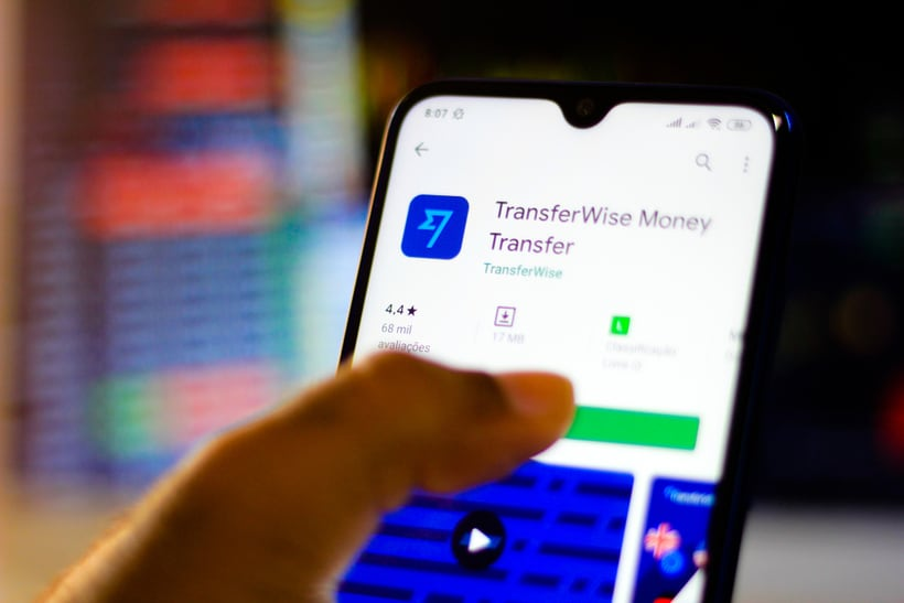 transferwise app to send money abroad