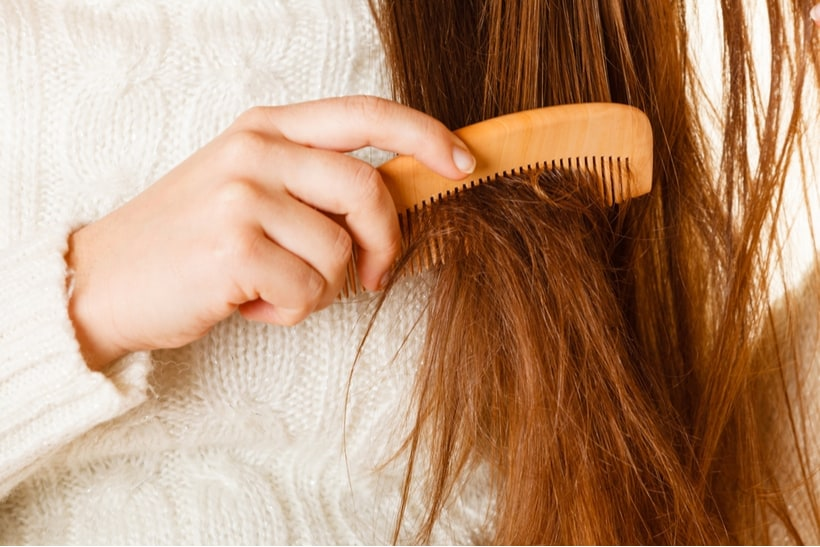 hard water damages hair