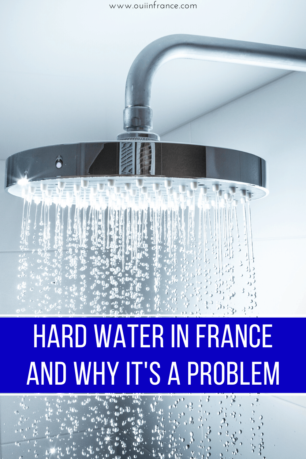 hard water in france and why it's a problem