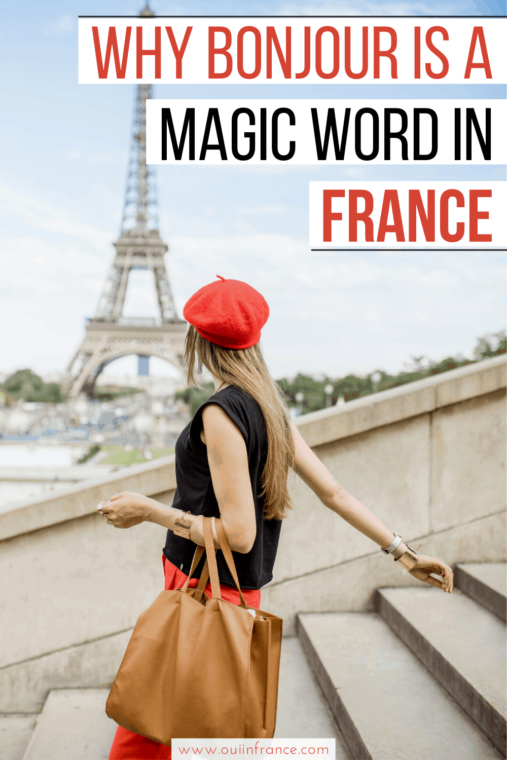 bonjour is the magic word in France