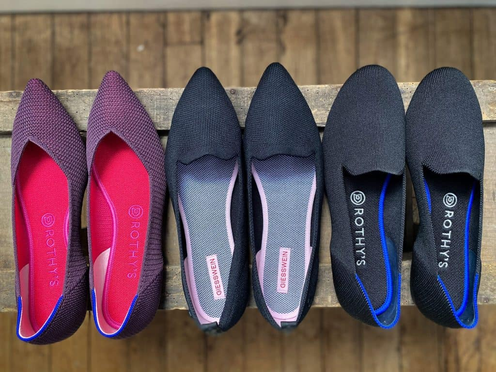 rothys alternative giesswein flats