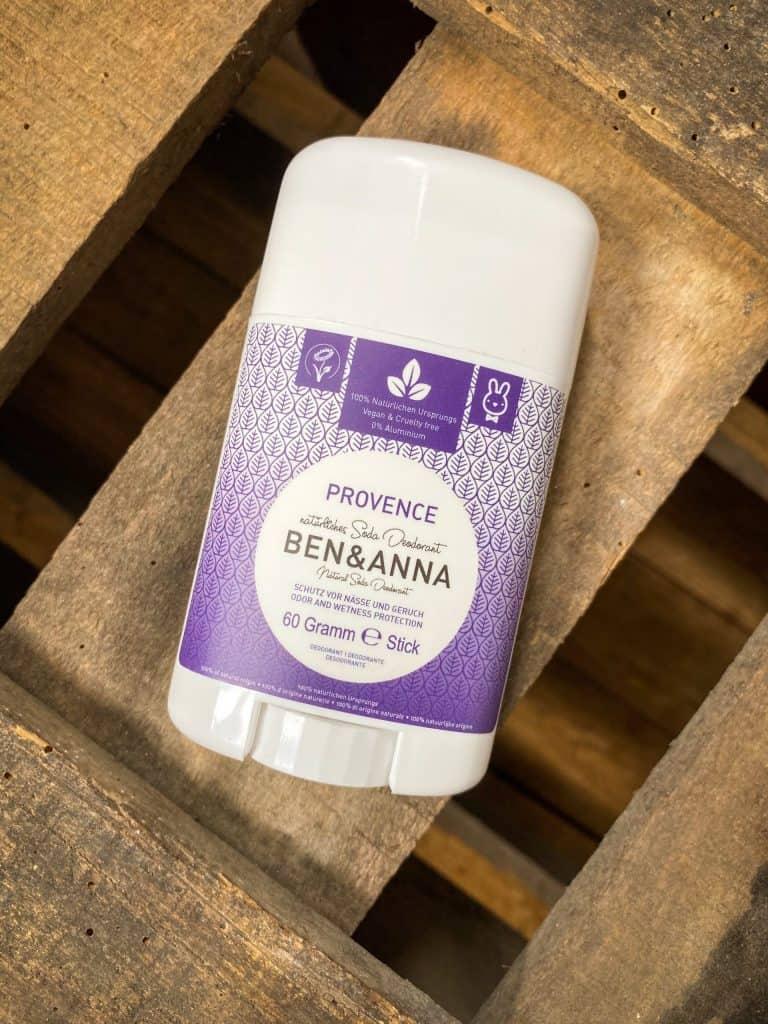 natural deodorant ben & anna