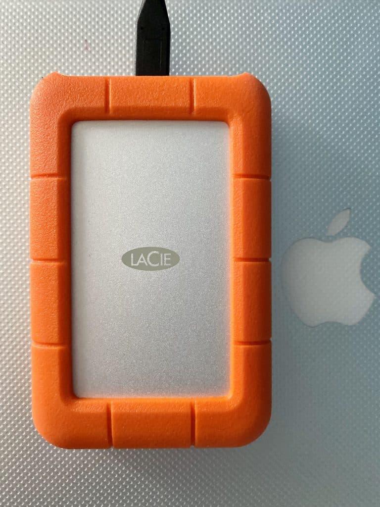 la cie rugged hard drive