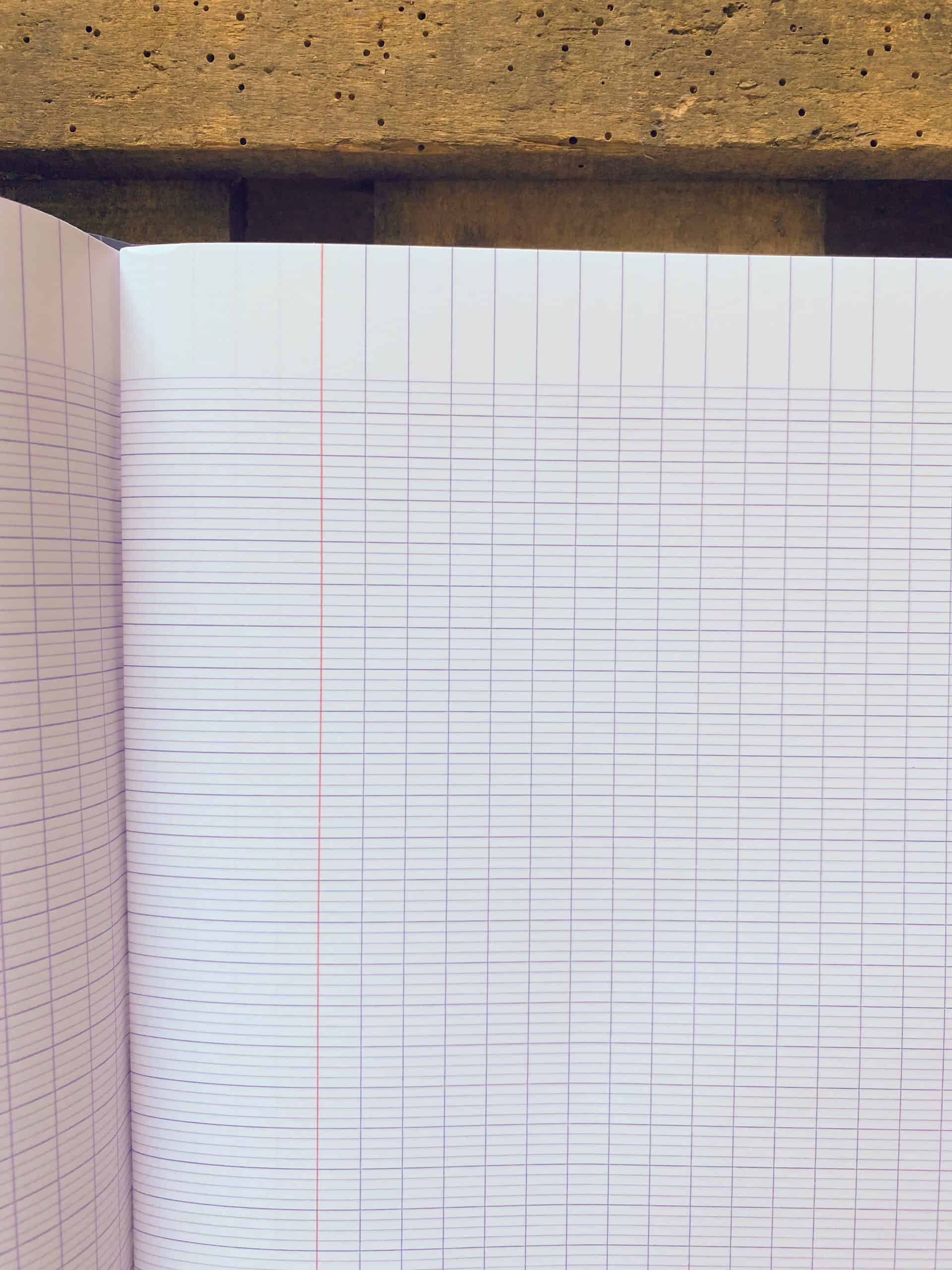 clairefontaine grid notebook french schools