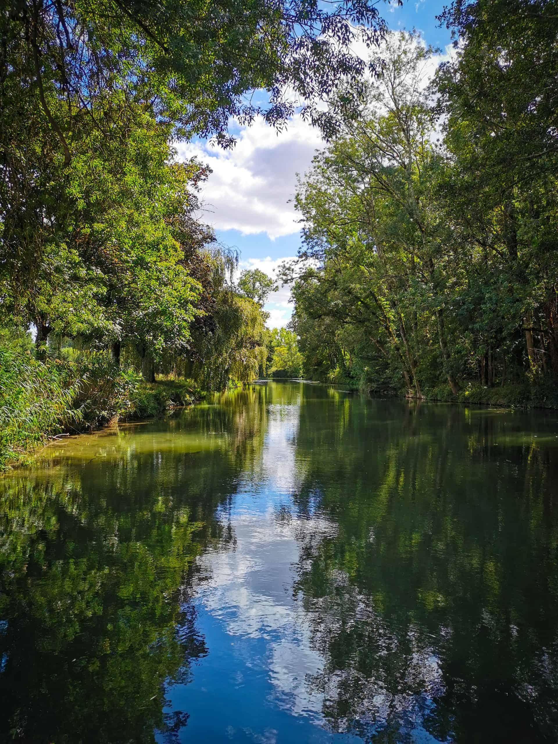 charente river calm relaxing landscape