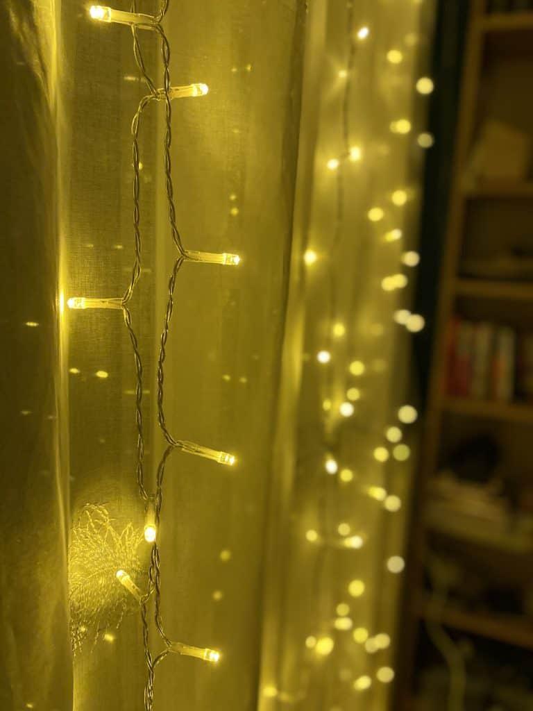 twinkle light decor