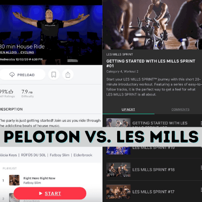 Peloton vs. Les Mills app: Which fitness app wins?