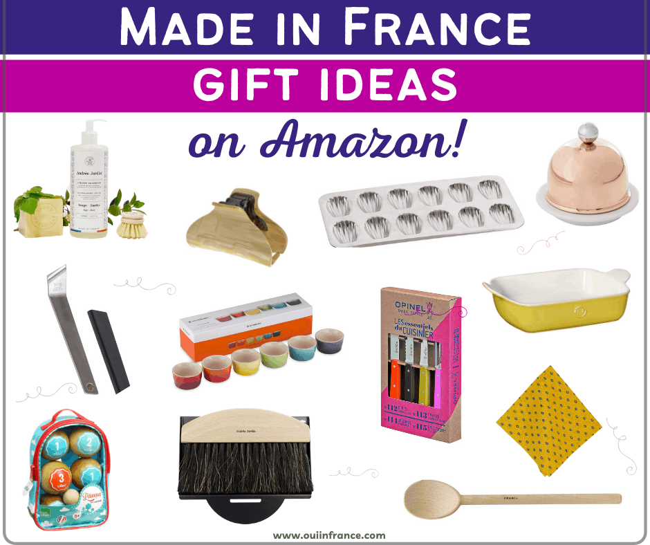 francophile gifts made in france products