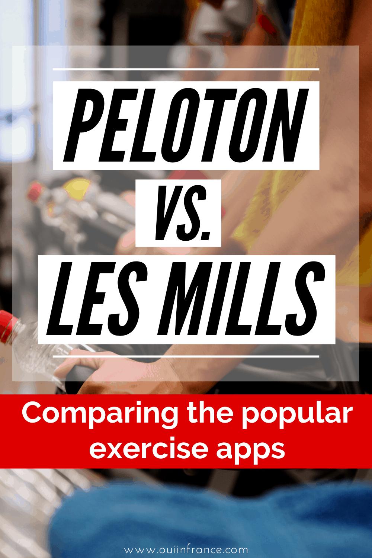 Peloton vs Les mills apps