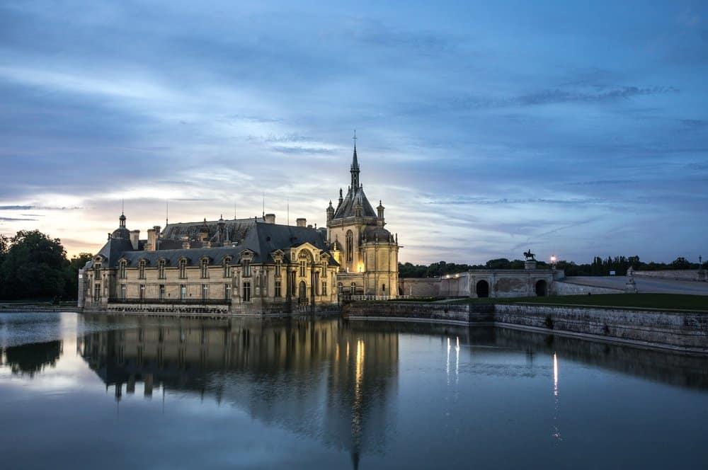 chateau de chantilly french castles