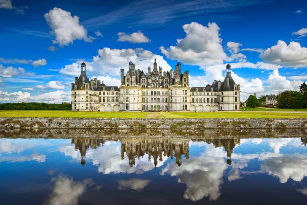 french castles chateau de chambord