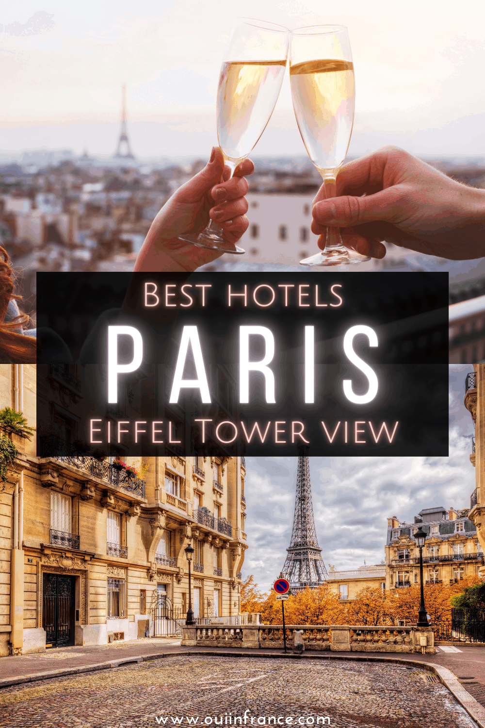 paris eiffel tower hotel pin