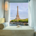 paris eiffel tower view hotels