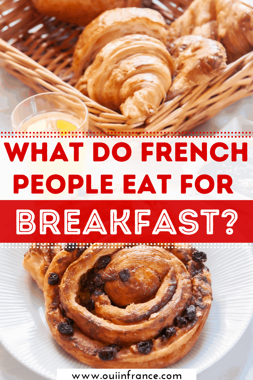 What do French people eat for breakfast_