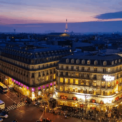 Galeries Lafayette rooftop: Best view in Paris?