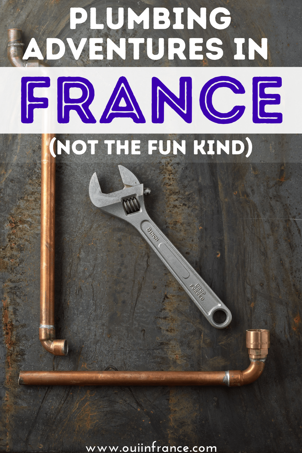 plumbing in france problems