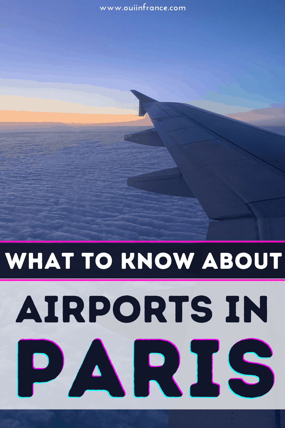 airports in paris guide