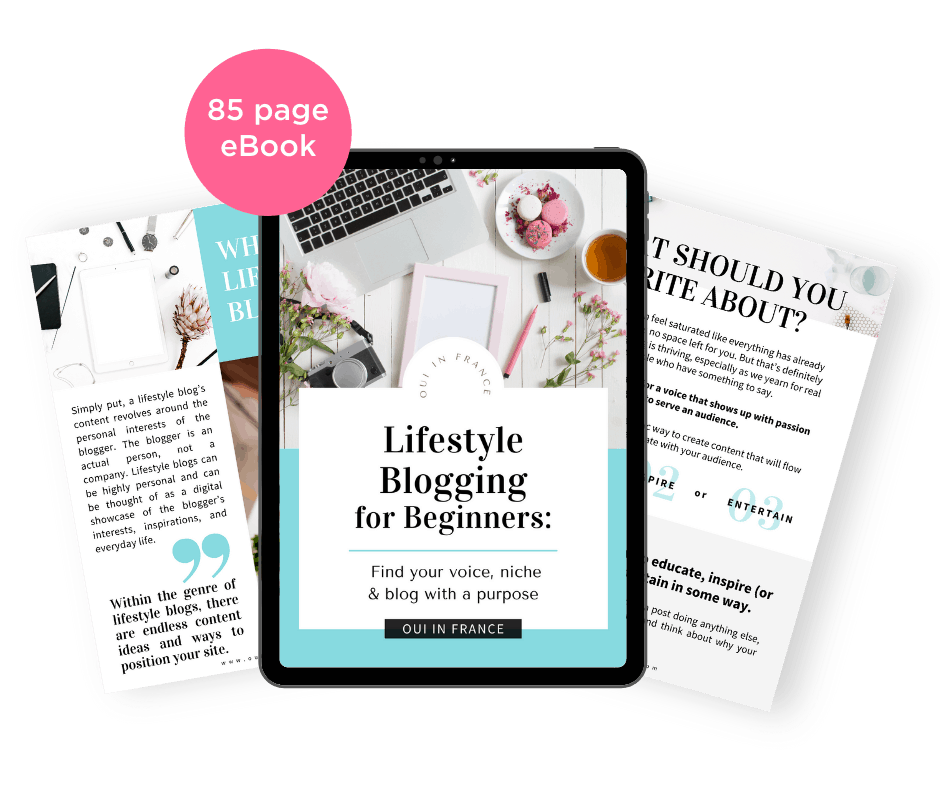 lifestyle blogging for beginners
