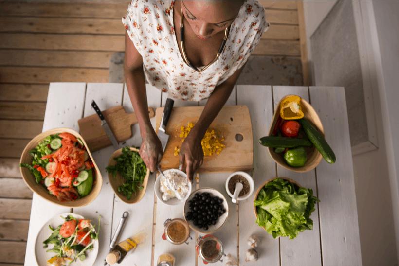 vegan in france meal prep