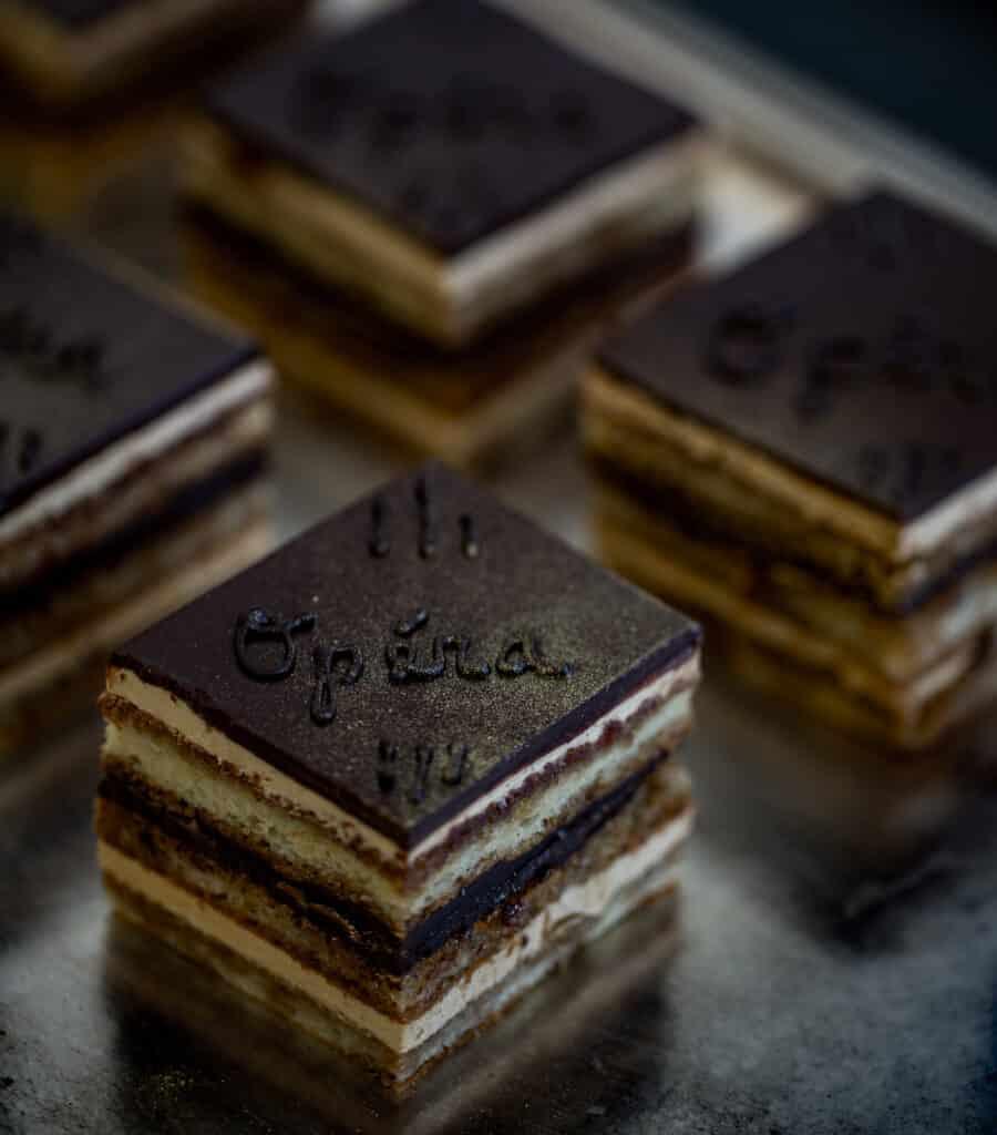 Opera Cake -MollyJWilk