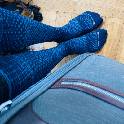 Why you need to wear compression socks when you fly