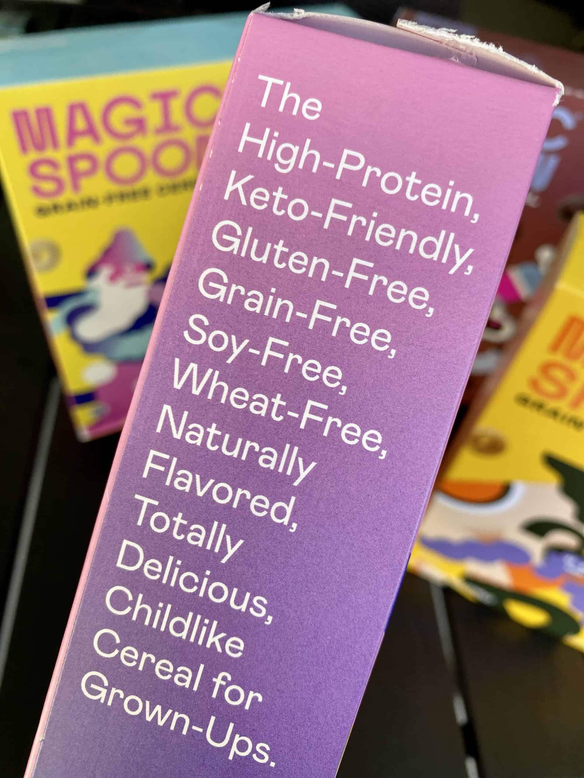 magic spoon nutrition