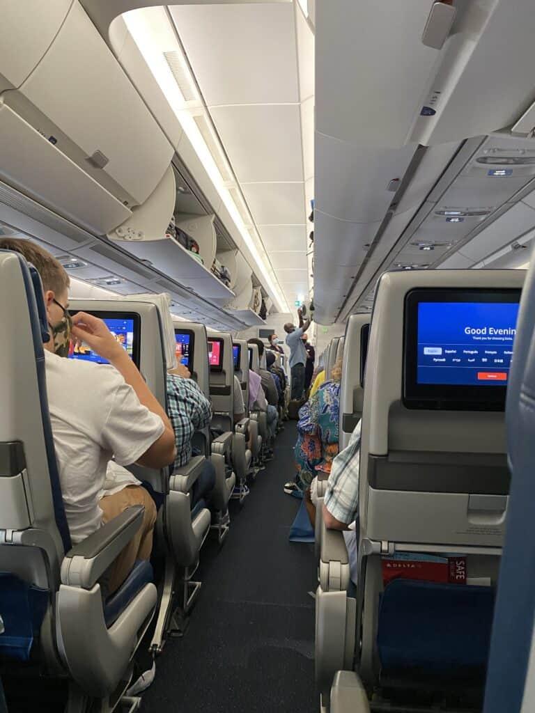 full flight to CDG