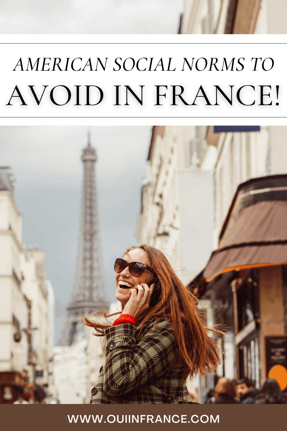 american social norms avoid in France