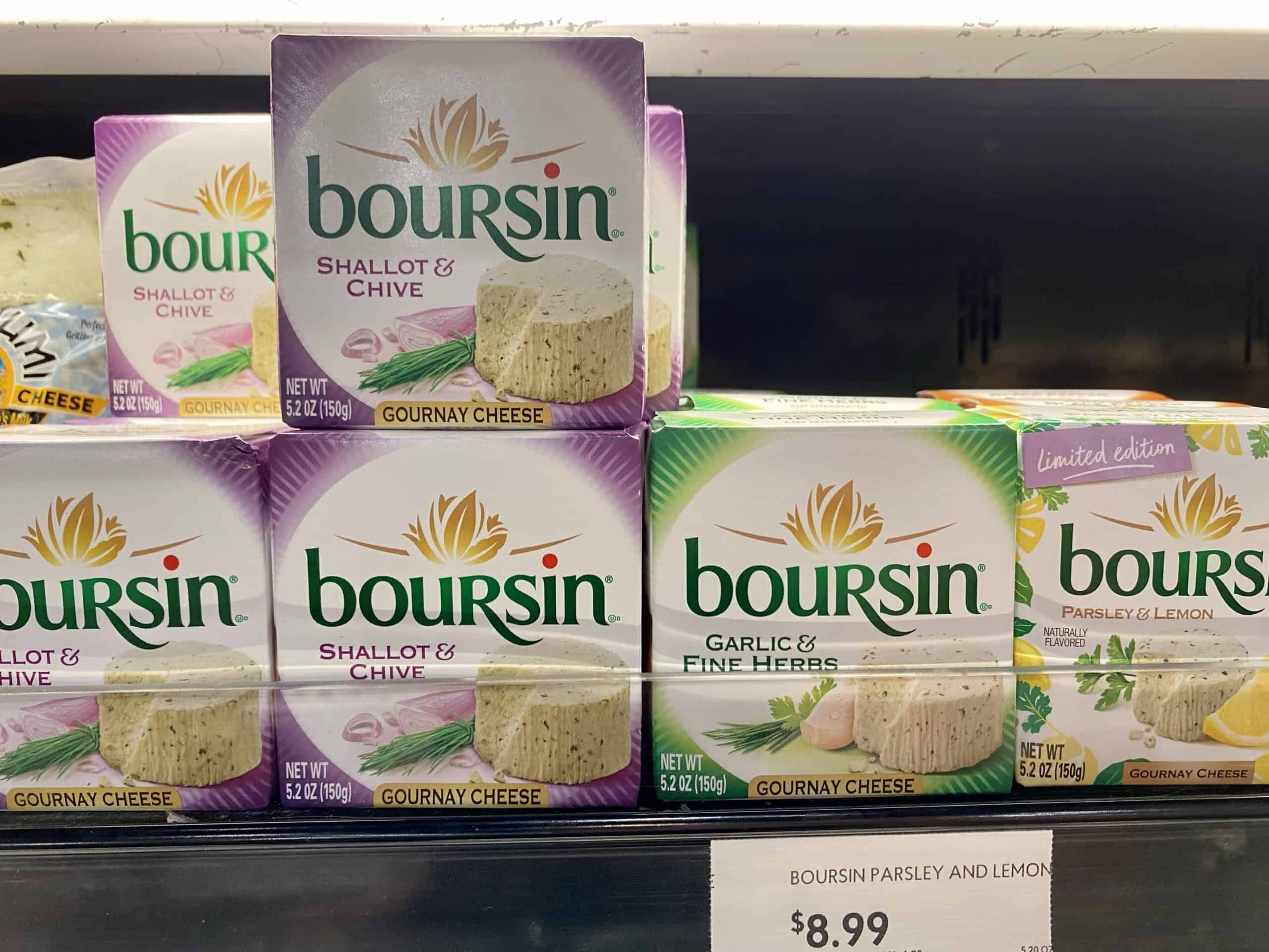 boursin french cheese in us