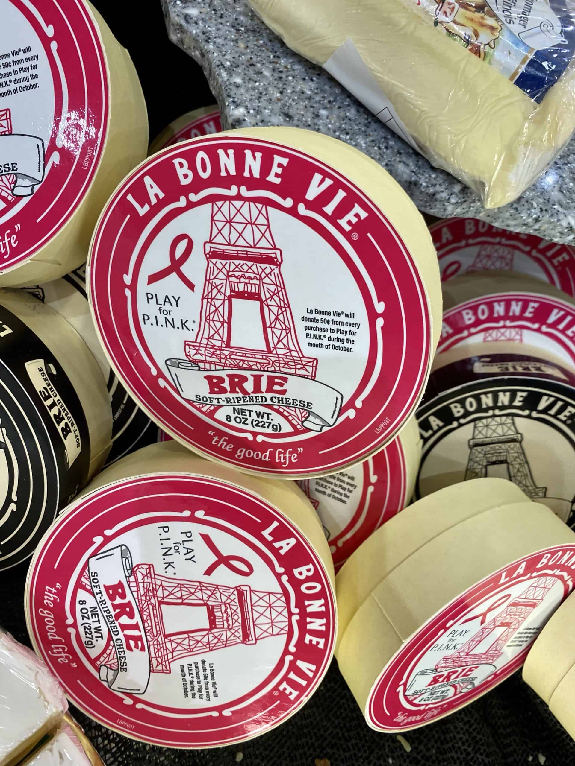 brie cheese grocery store france